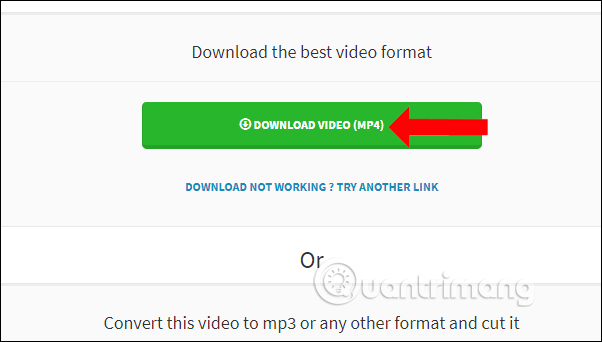 SaveTheVideo download video